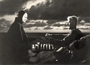 Max Von Sydnow Playing Chess with Death.