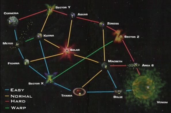 Starfox map