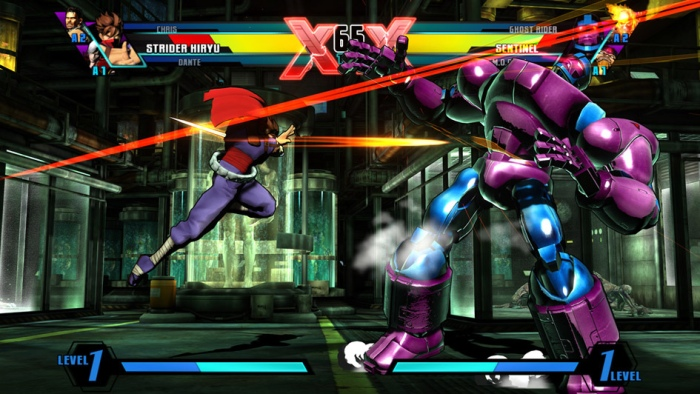 Ninjas vs. Robots
