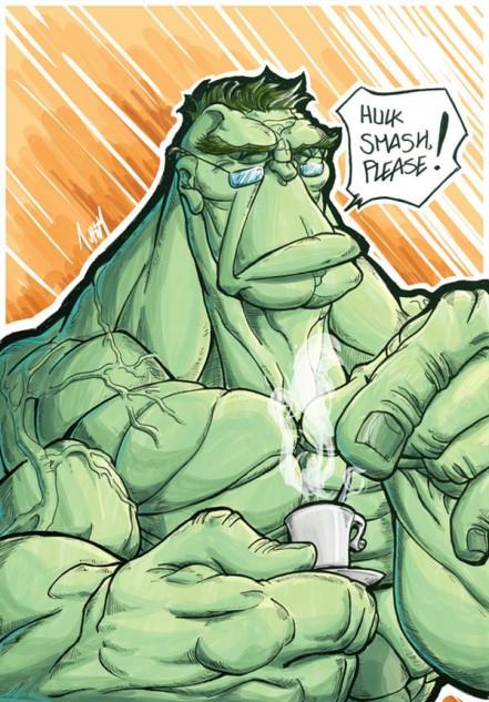 classy hulk